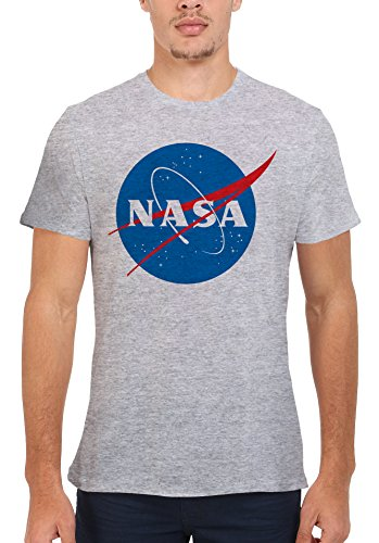 NASA Space Rocket Moon Space Astronaut Novelty Men Women Unisex Top T Shirt-S