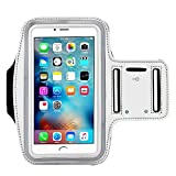 [1 Pack]Premium Water Resistant Sports Armband, CaseHQ with Key Holder Running for iPhone