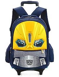 Preisvergleich für XIAOMIN Kinder Zwei Rädern Rad Tasche Wasserdicht Schultasche Für Kinder Und Kinder Outdoor-Reise Abnehmbaren...