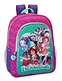 Safta Mochila Escolar Niños Enchantimals Oficial 330x140x420mm