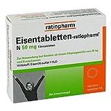 Eisentabletten-ratiopharm N 50mg 100 stk