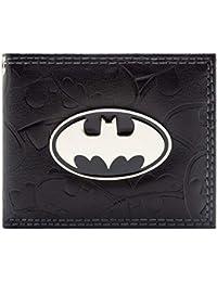 Cartera de DC Comics Batman símbolos en Relieve Negro