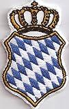 Bavaria Staatswappen Freistaat Bayern Aufnäher - BAVARIA - Oktoberfest Patch