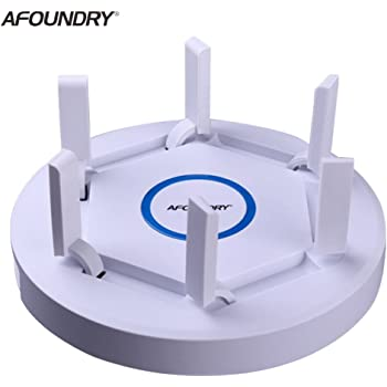 AFOUNDRY Router inalámbrico Dual-Band EW1900 Gigabit AC,2600Mbps Computadora WiFi Router Repeater largo
