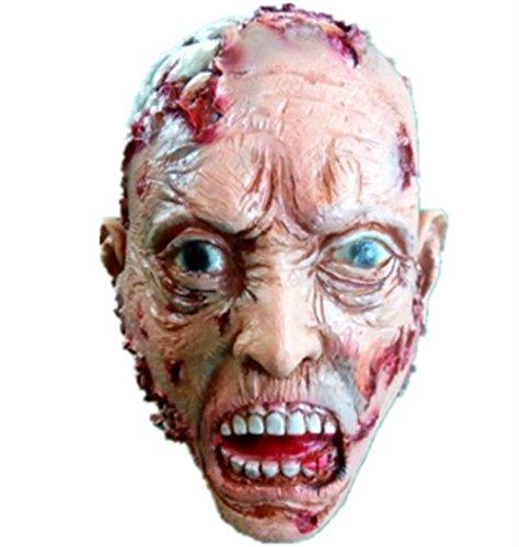 WSJDJ Halloween Erwachsene Maske Zombie Maske Latex Blutige Scary Extrem Ekelhafte Vollgesichtsmaske Kostüm Party Cosplay Prop
