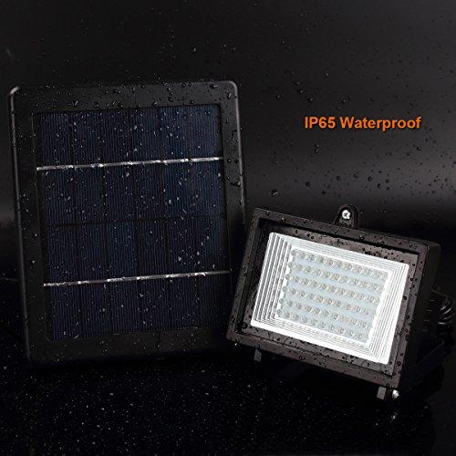 Balkon Beleuchtung Solar | Meikee 60 Led Solar Licht Sicherheit Beleuchtung Solar