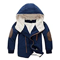 FeiXiang Children Clothes, Children Jackets Boys Hoodies With Outerwear Warm Winter Jacket Clothing