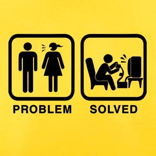 Problem gelöst - Computer - Herren T-Shirt - 13 Farben Gelb