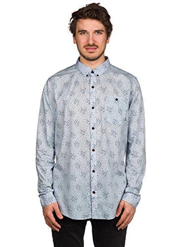 Herren Hemd lang Billabong Vertigo Hemd Silver