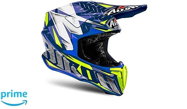 Airoh TWIR18 Twist Iron Blue Gloss XXL