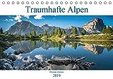 Traumhafte Alpen (Tischkalender 2019 DIN A5 quer): Monatskalender mit Bildern aus den Europäischen Alpen (Monatskalender, 14 Seiten ) (CALVENDO Natur)