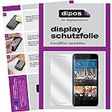 dipos I 6X Schutzfolie klar passend für HTC Desire 728G Folie Bildschirmschutzfolie