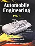 Dr. Kirpal Singh's Automobile Engineering Vol 1 1st Edition is for engineering students. The book is divided into multiple sections so as to give you a better understanding of the subject. The books covers Automobile Engineering and Automotive Engine...