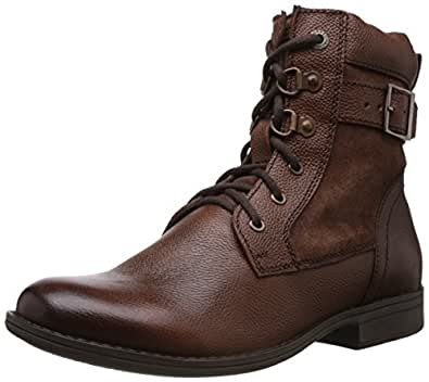Alberto Torresi Men's Mid Brown and Partidge Leather Boots - 11 UK