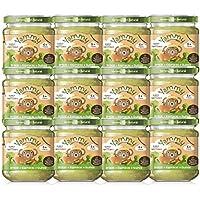 Yammy, Potito Ecológico de Verduras (Brócoli, Espinacas, Quinoa) - 12 de 195 gr. (Total 2340 gr.)