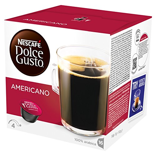 Nescafé Dolce Gusto Caffè Americano, Pack of 3 (Total 48 Capsules, 48 Servings) 51LJIMy76yL