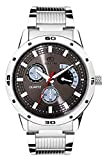 Adamo Silver Mens Gents Wrist Watch AD10...