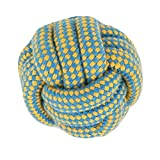 #10: PetSutra Dog Rope Toys for Chewing and Teething Dogs & Puppies (Multiple Colors) (Multi Designs) (Rope Ball Toy)