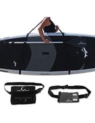 Deluxe Sup Carry Pack–libre Cintura Bolsa de transporte y libre grande resistente al agua Teléfono móvil a Guarda tu teléfono y llaves–por los propios para mientras que la ola 'TM