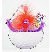 Pop Up Geburtstag ZZ Design Grußkarte PopShot Happy Birthday Golf 16x16cm