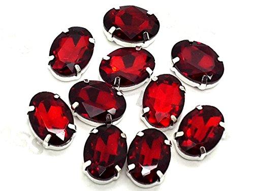 Eimass exquisite Glas-Kristalle zum Aufkleben oder Aufbügeln, Swarovski-Alternative, -