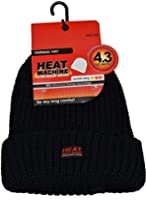 Mens/Ladies VERY HOT Heat Machine Thermal 4.3 TOG RATED Knitted winter hat - ski hat - GUARANTEED WARMTH