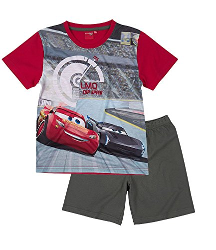 Disney Cars Jungen Shorty-Pyjama - rot - 128