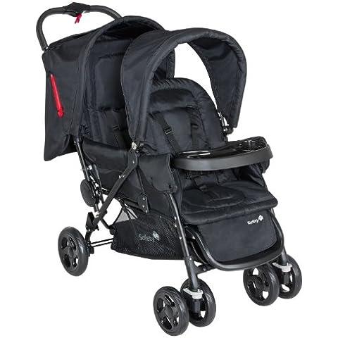 Safety 1st - Passeggino Tandem Duodeal - Full black, 11487640