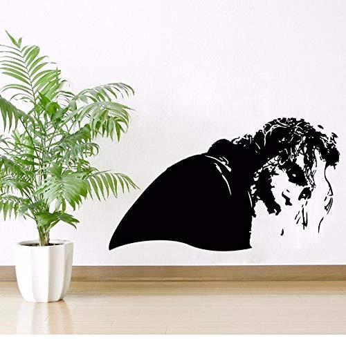 Xzfddn Film Zeichen Wandaufkleber Fantasie Sammlung Für Wanddekor Joker Bösewicht Seite Vinyl Wandtattoos Filmplakat