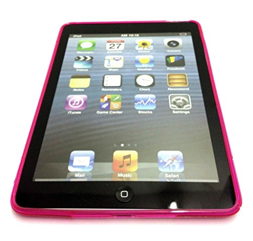 Preisvergleich Produktbild TPU Silikon Gel Skin Hot Pink Case Cover S-Line Sline für Apple iPad Air 2 iPad 6