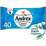 Andrex Washlets Coton Des Lingettes De Papier Hygiénique Humides Fraîches (42)