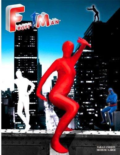 Kostüm Frottman - Party Pro 87323405-Kombination Frottman, rot, Größe XL