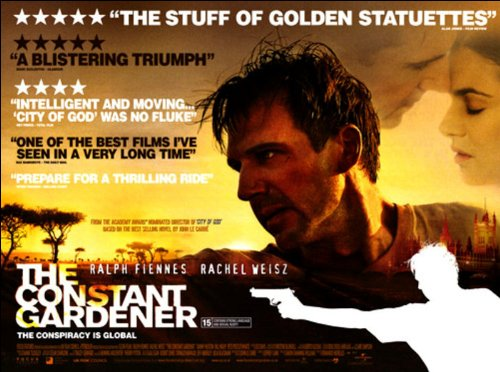 The Constant Gardener Movie Poster