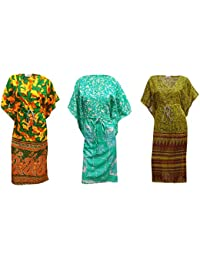 fb0f29f3ee1 PEEGLI Caftan De Vintage Coiffer Long Maxi 3 Pièces Loungewear Robes Kimono  Caftan