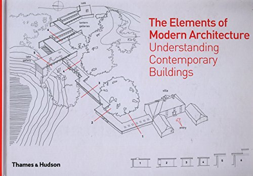 The Elements of Modern Architecture: Understanding Contemporary Buildings by Antony Radford (26-May-2014) Hardcover