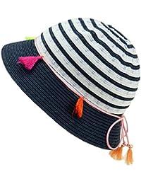 EveryHead Fiebig Sombrero De Niñas Gorro Papel Tela Equinácea Verano Moda  La Marca Vacaciones Protección contra bcb982edaf1