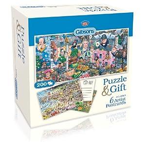 Gibson Games - Puzzle de 200 piezas (Gibsons Games G2601)