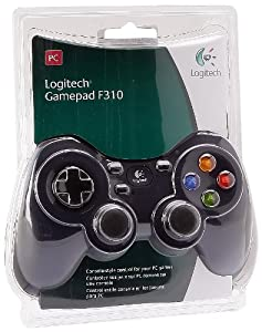 Logitech F310 Gamepad - Blue
