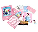 WANNA ONE 1st Mini Album - TO BE ONE [PINK Ver.] CD + OFFICIAL POSTER + Flip Book + Photocards + Cover Card + Photobook + Lyrics Paper + Ticket + FREE GIFT / K-POP Sealed