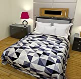 #8: Style Seven Adorable Geomatrical Printed Single Bed Size AC Quilt/Blanket/Dohar