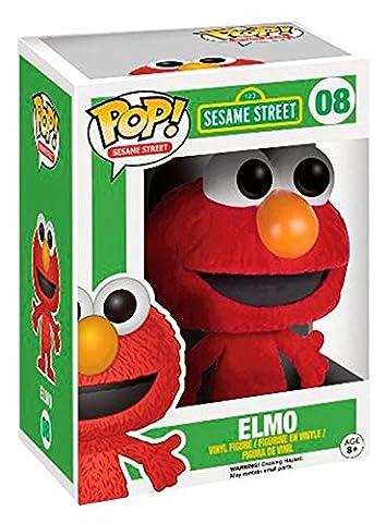 Sesamstra�e Funko Pop! - Elmo (Flocked) 08 Sammelfigur Standard