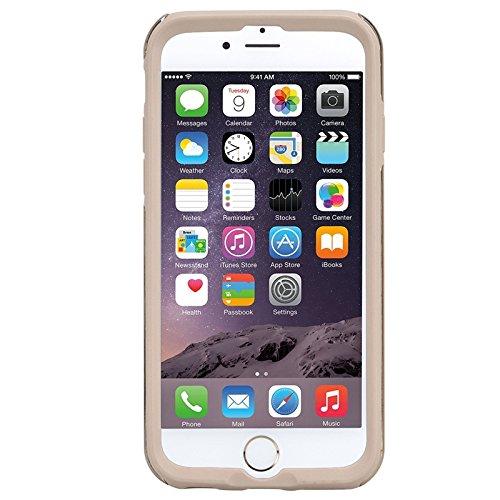 iPhone 6 / iPhone 6s Hülle, Yokata 2 im 1 Case Glitzer Bling Diamant 2 Layer Cover Innere Weich Silikon Backcover mit Hart PC Rüstung Armor Case Schutz Anti-stoß Schutzhülle + 1 x Kapazitive Feder Gold
