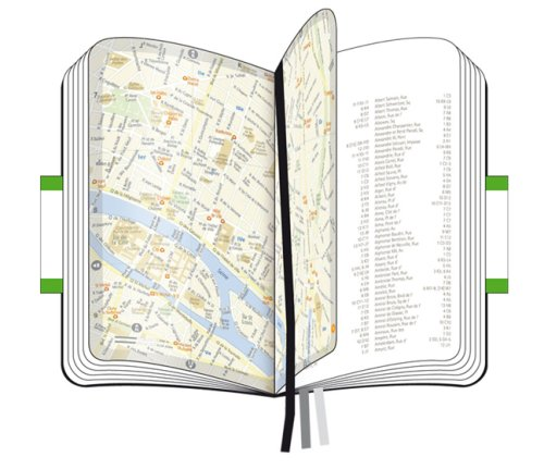 Moleskine City Notebook MILAN Couverture rigide noire 9 x 14 cm