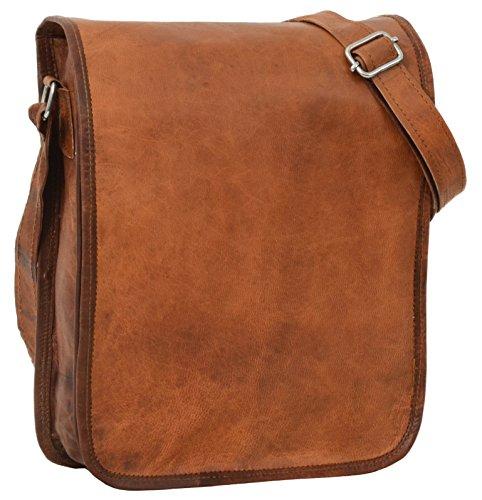 """d56a8a0b19 Gusti Cuir nature """"Breen"""" sac à main en cuir sacoche tablettes 9,7"""