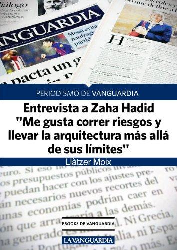 """Entrevista a Zaha Hadid, arquitecta: """"Me gusta correr riesgos y llevar la arquitectura más allá de sus límites"""""""