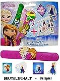 alles-meine.de GmbH 1 Stück: Wundertüte & Überraschungstüte -  Disney Frozen - die Eiskönigin  - Kinderschmuck - Überraschungspaket OHNE Süßigkeiten - Kinder für Mädchen - Schn..