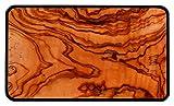 ZAK Osmos Frühstücksbrettchen Olive/schwarz 23,5x16 cm