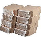 kraftmax 500 x Premium Verpackung/Versandtaschen - Frustfreie Versandtasche aus Pappkarton - DIN A5-23,5 x 18 cm