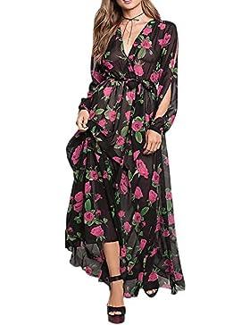 iShine falda larga mujer faldas cortas Vestido de gasa