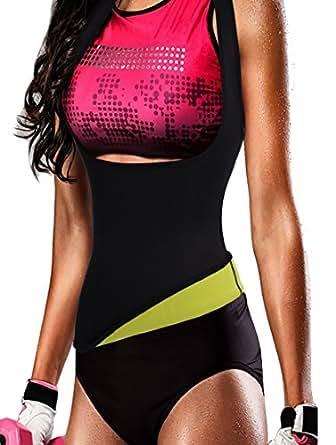 Bingrong Women Slimming Waist Trainer Cincher Sport